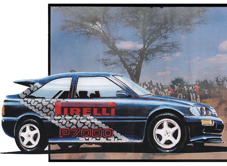 Racing Car Graphics Design Oxford
