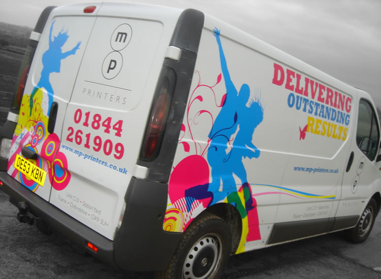 Vehicle Graphics Long Crendon