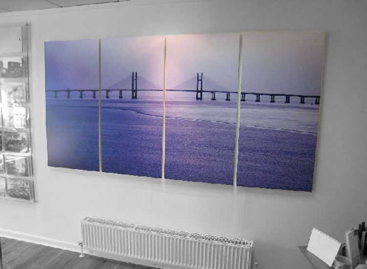 Canvas Wall Graphics for an Office