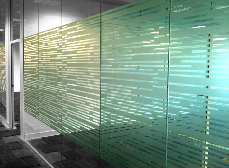 Glass Office Window Vinyl Manifestations