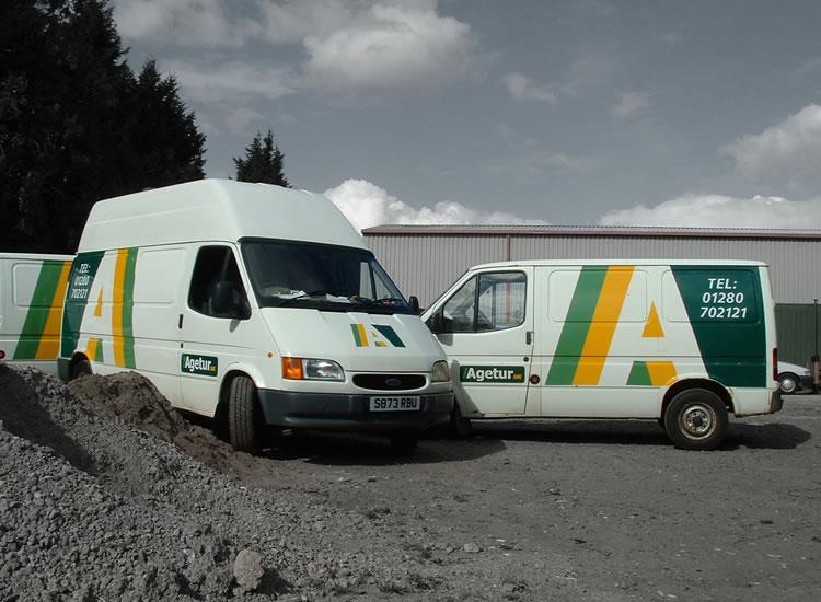 Agetu Van Fleet Livery For Vehicles