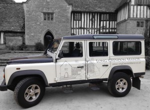 Land Rover Vehicle Graphics near Aylesbury