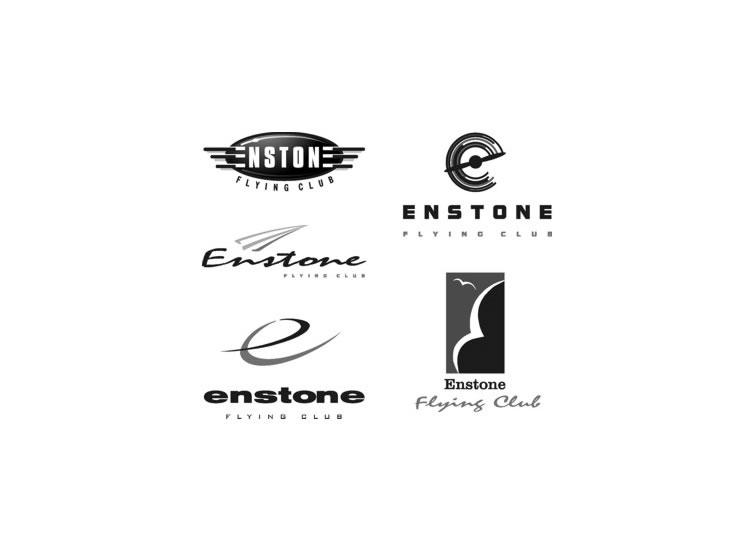 Flying Club Logo Designs