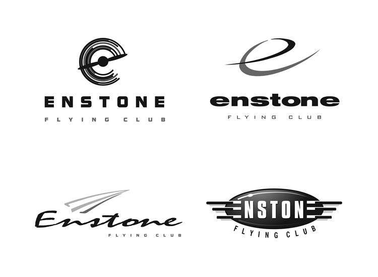 Enstone Flying Club logo design