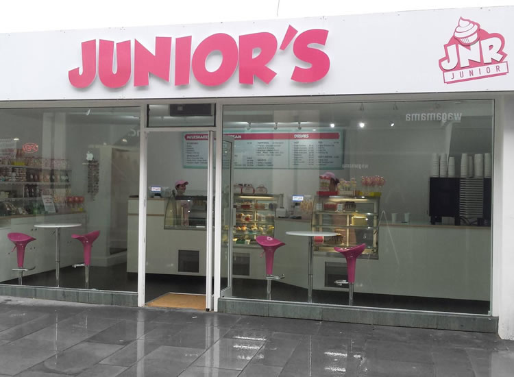 Junior Cup Cakes Fascia Sign