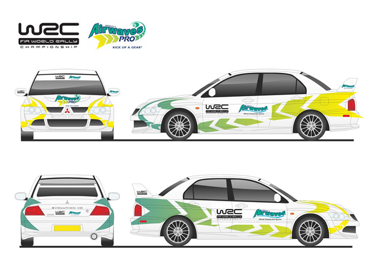 Rally Car Graphic Liveries