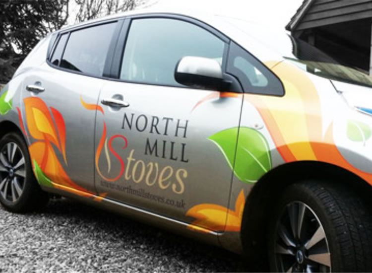 Bespoke Vehicle Graphics for Car