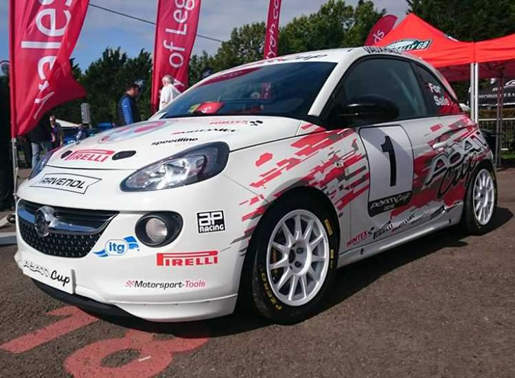 Adams Cup Motorsport livery and design